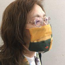 ハンカチマスク② 装着