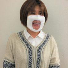 対話用マスク 装着