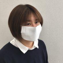 キッチンペーパーマスク② 装着